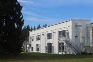 Renovated and Repurposed Factory now serves as the main Open Space Facility.